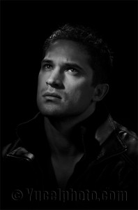 Classic Black and White Headshot Actor's Portrait Photographer Phoenix. Model Headshots Phoenix